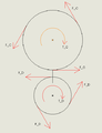 Free Body Diagram of Gears A and D.png