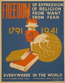 four freedoms speech summary