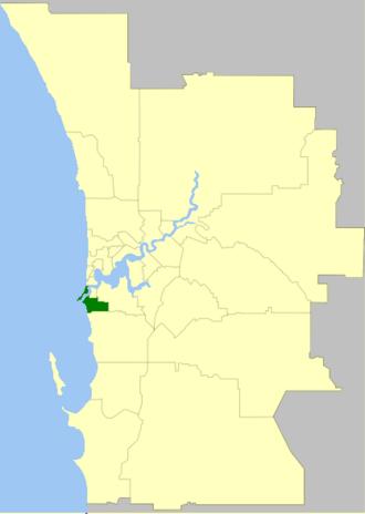 City of Fremantle - Image: Fremantle LGA WA