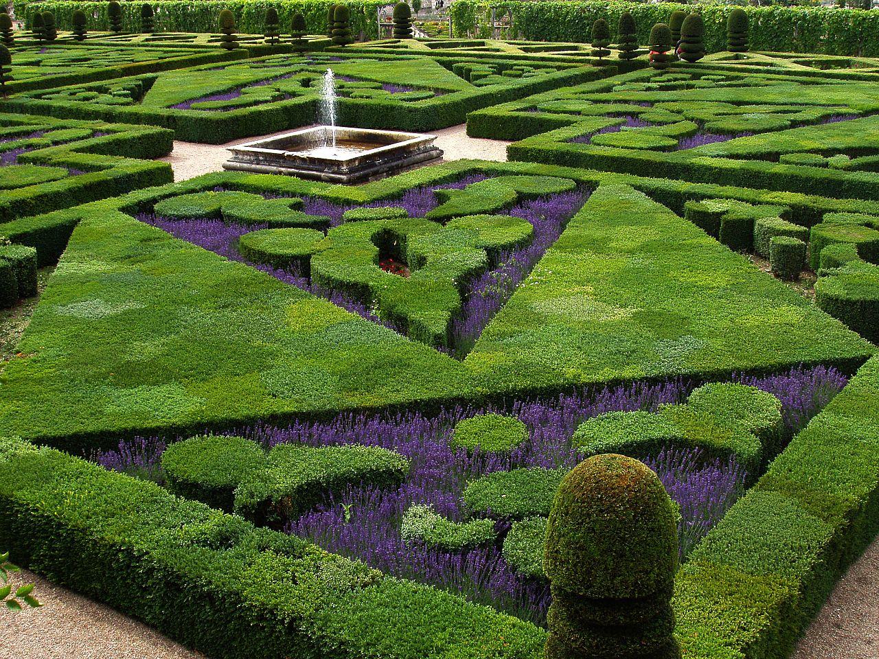 FileFrench Formal Garden in Loire Valleyjpg Wikimedia
