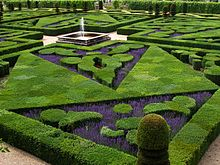 French Formal Garden In The Loire Valley Part 22