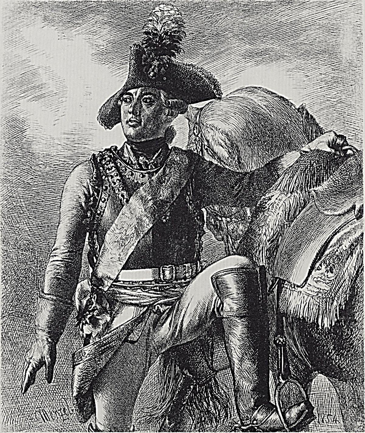 Friedrich Wilhelm von Seydlitz - Wikipedia