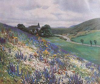 Bitburg - Fritz von Wille: Die blaue Blume