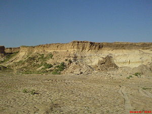 Frolovsky District - A sand mine in Frolovsky District