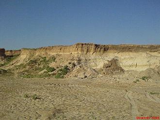 Frolovsky District - A sand mine in Frolovsky District