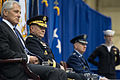 From left, Secretary of Defense Chuck Hagel; U.S. Army Gen. Martin E. Dempsey, the chairman of the Joint Chiefs of Staff; and Air Force Gen. C. Robert Kehler, the outgoing commander of U.S. Strategic Command 131115-D-KC128-407.jpg