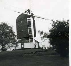 Fryerning Windmill, Essex, 1965.jpg