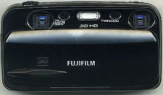Fujifilm FinePix Real 3D digital camera model