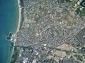 Fukutsu city center area Aerial photograph.2010.jpg
