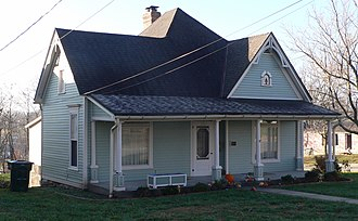 National Register of Historic Places listings in Callaway County, Missouri - Image: Fulton, Missouri 302 E 5th St from NE 1