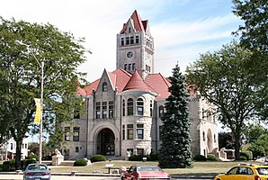 Fulton County Courthouse in Rochester, gelistet im NRHP Nr. 00001138[1]