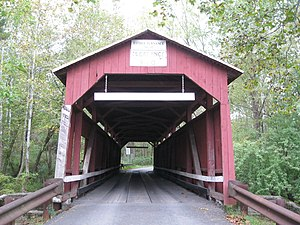 Furnace Covered Bridge No. 11 - The bridge in September 2012