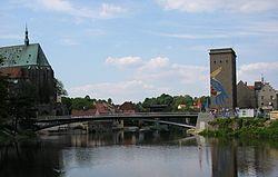 Footbridge over the Neisse between Görlitz and Zgorzelec