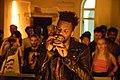 GAIKA performing at Somerset House August 2018 06.jpg