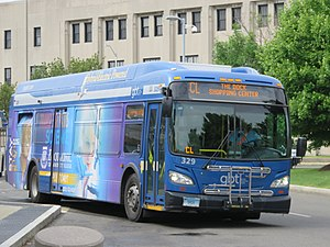 Greater Bridgeport Transit Authority - Image: GBT 329