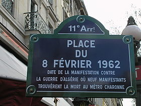 image illustrative de l'article Place du 8-Février-1962