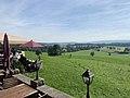 GER — BY — Lkr. RO — Feldkirchen-Westerham - Aschbach 3 (Terrassenausblick).JPG