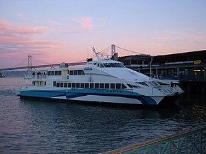 GGT ferry Del Norte