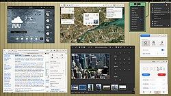 GNOME Shell with some GNOME applications (version 3.38, released in September 2020).jpg