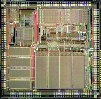 ARM architecture - Die of an ARM610 microprocessor