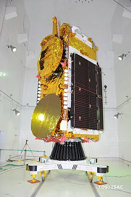 GSAT-11 in cleanroom 01.jpg
