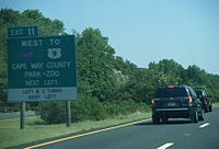 Map Of Garden State Parkway The Full Wiki