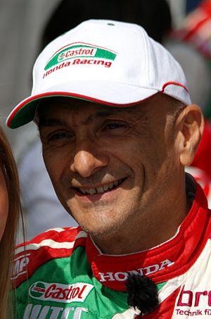 Gabriele Tarquini - Tarquini at the 2014 FIA WTCC Race of Belgium.