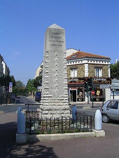Kriegerdenkmal (Gagny)