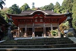 Gakuenji temple Konpondo.jpg