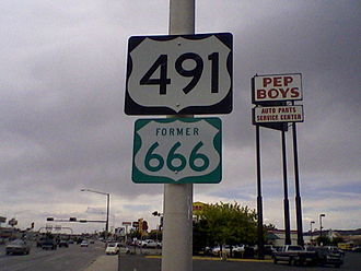 U.S. Route 491 - Image: Gallup NM