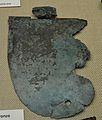 Galtera de casc sobre planxa de bronze, segle II-I aC, Museu Soler Blasco de Xàbia.JPG
