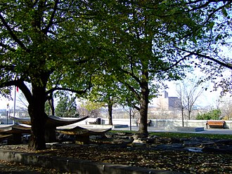 Garden of the Provinces and Territories - Image: Garden of the Provinces and Territories 2007