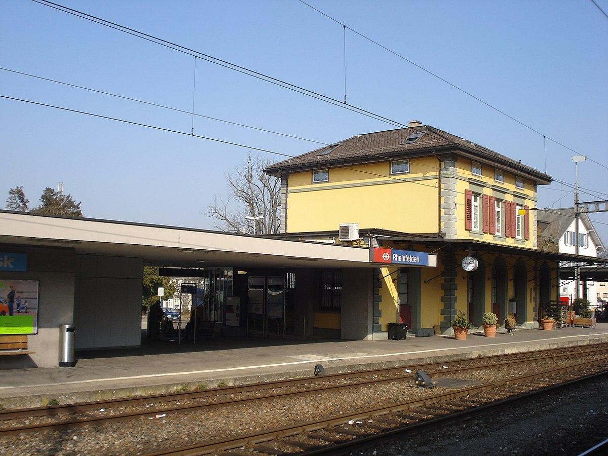 Bahnhof rheinfelden wikipedia for Freibad rheinfelden baden