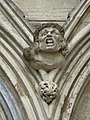 Gargoyle, West Door, Salisbury Cathedral - geograph.org.uk - 234089.jpg
