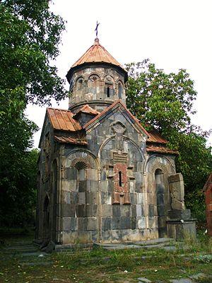 Mashtots Hayrapet Church of Garni - Mashtots Hayrapet Church, September 2009.