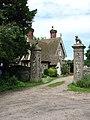 Gatehouse beside Hall Road - geograph.org.uk - 838999.jpg