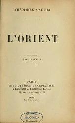 Théophile Gautier: L'Orient
