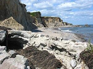 Gedser Odde - Cliffs at Gedser Odde, Falster