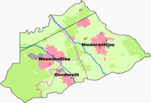 Hasselroth - Constituent communities