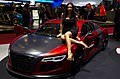 Geneva MotorShow 2013 - Audi R8 GTR ABT with hostess 1.jpg