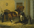 Gentleman, the Favourite Horse of King Carl XV of Sweden (Johan (John) Georg Arsenius) - Nationalmuseum - 21787.tif