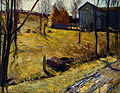 George Bellows - Haystacks and Barn, 1909.jpg