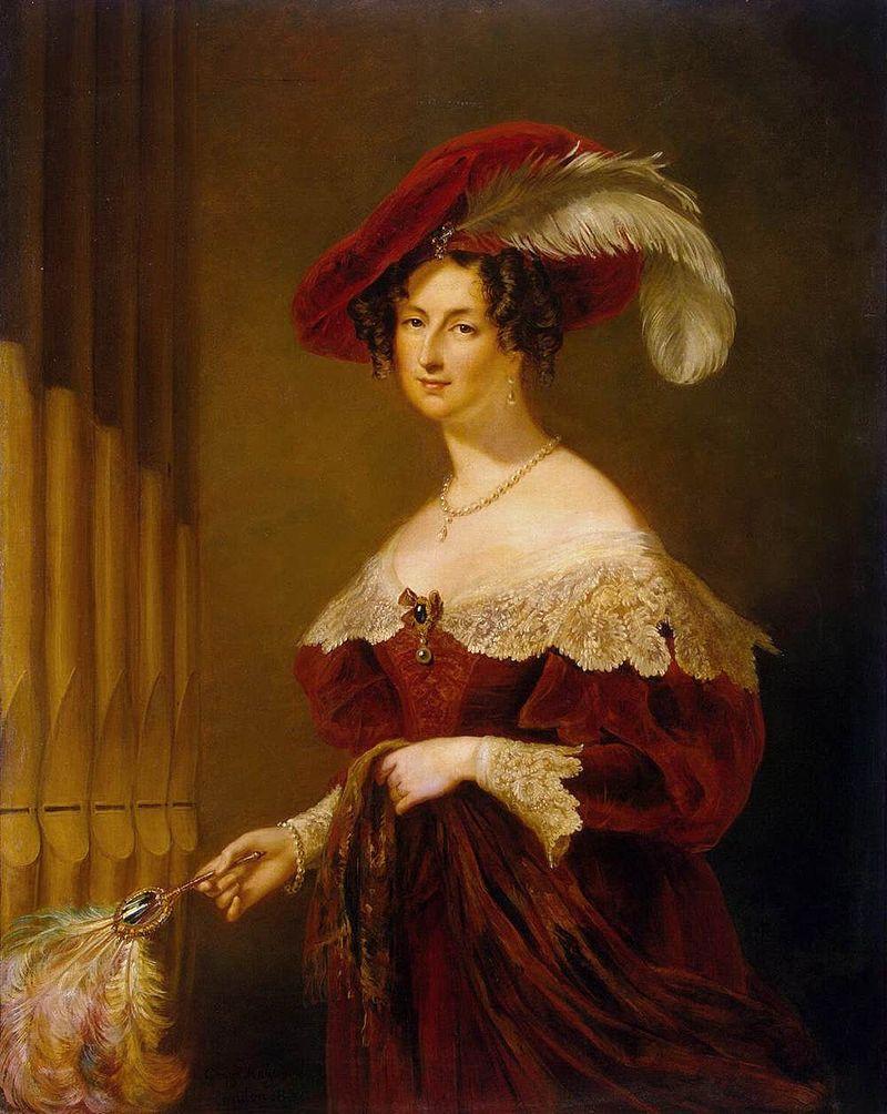 Георгий Хейтер: Портрет графини Елизаветы Константиновны Воронцовой (1792-1880)