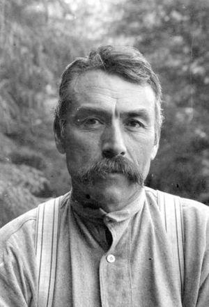 George Hunt (ethnologist) - George Hunt in 1898