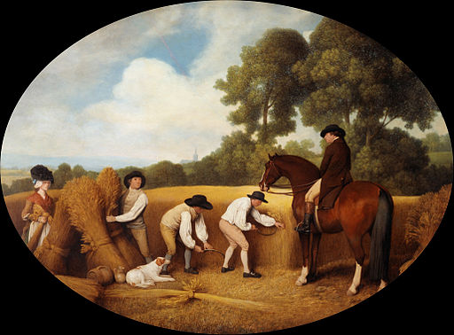 George Stubbs - Reapers - Google Art Project