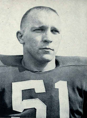 1960 Michigan Wolverines football team - 1960 team captain Gerald Smith