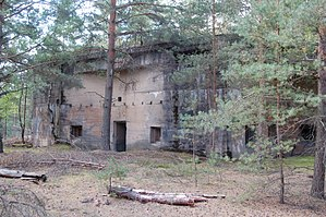Lower Silesian Wilderness - German bunker from the WW2 in Lower Silesian Wilderness