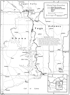 Ghana–Togo border