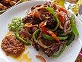 Ghanaian Roast Goat cuisine dish food.jpg