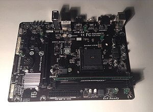Gigabyte Technology - Image: Giga Byte Technology AM1M S2H Motherboard